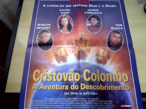 Revista Poster Filme Cristovão Colombo