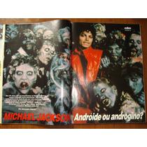 Revista Reportagem Michael Jackson Antiga Anos 80 Ele Ela
