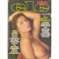 Revista - Xuxa / Nice Meirelles / Angelita Feijó / Poster