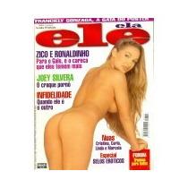 Revista Ele Ela Cristina,carla E Marcela 347 Jun 1998 S Port