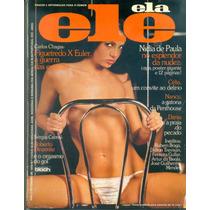 Revista Ele & Ela Nidia De Paula 1978