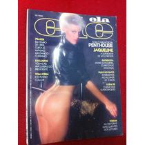Revista Ele Ela 90 Jaqueline Mônica Musa Camille Selvagem