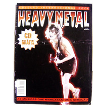 Revista Heavy Metal - Ac/dc Angus Young - Nº 4 Sem Cd