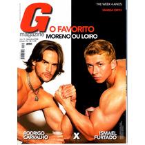 Revista G Magazine 132 - Rodrigo Carvalho X Ismael Furtado