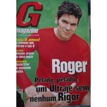 Revistas G Magazine - Roger, Ultraje A Rigor