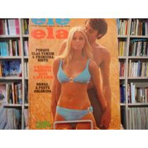 Revista Ele Ela Nº 9 - Ano 1 - Janeiro 1970 - Raríssima!!!