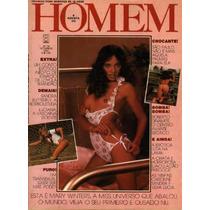 Revista Homem N. 38 Sandra Butterfly - Setembro 1981 - Ano 4