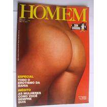 Revista Homem 20 Abr 1980 Especial Todo Erotismo Da Bahia