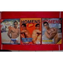 Revistas Homens Lote C/ 3 Revistas R$ 12,00