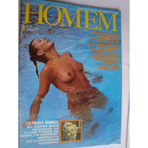Revista Homem 22 Jun 80 Cais Porto Santos Mais Duzias Mulher