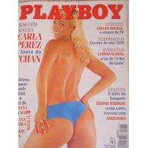 Playboy Carla Perez Na Capa-outubro 1996-poster Com Kate
