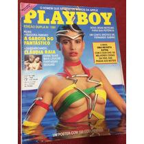 Revista Playboy Isadora Ribeiro Claudia Raia Poster 150 Gata