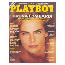 Playboy 188 - Mar/91 - Bruna Lombardi - Completa