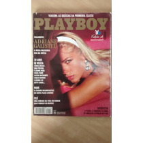 Revista Playboy 241 Adriane Galisteu Agosto 1995