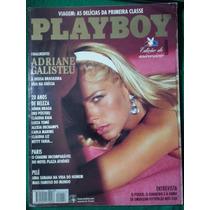 Playboy Adriane Galisteu 1995. Bom Estado De Conservação