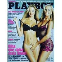 Helô E Ticiane Pinheiro Nua Na Playboy Abril De 2003