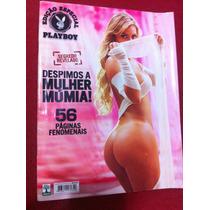 Revista Playboy 10 Especial Rara Laura Keller Mulher Múmia