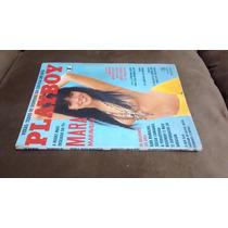 Revista Playboy Mara Maravilha Fevereiro 1990