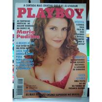 Revista Playboy Maria Padilha Março 1994 Bom Estado