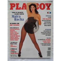 Revista Playboy Maira Rocha Novembro 1995 Frete Grátis