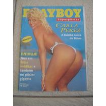 Revista Poster Playboy Carla Perez Loira Do Tchan Rarissíma