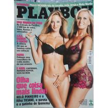 Playboy Helô E Ticiane Pinheiro- 2003