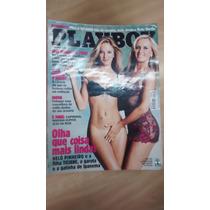 Revista Playboy 333 Helô Pinheiro E Ticiane Abril 2003
