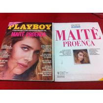 Revista Sexy Playboy Maitê Proença Especial Kim Cristina