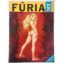 Fúria Sex- Revista Hq Quadrinhos Erótica - P/ Colecionadores