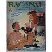 Bacanal Quadrinhos Eróticos Editora Onix
