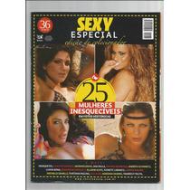 Revista Sexy Especial 25 Mulheres Inesquecíveis Samambaia