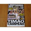 Corinthians Libertadores 2012 Revista Poster Grandes Campeõe