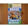 Brasil Tri Campeã Mundial 1970 Revista Poster Lance