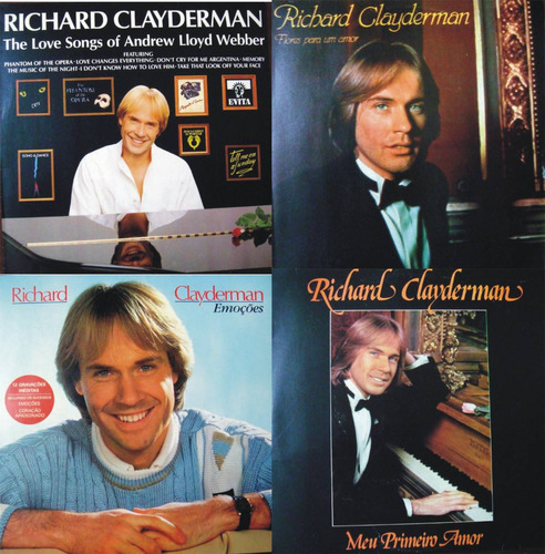 Richard Clayderman Lp Vinil Raridade Discos