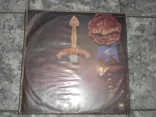 Rick Wakeman 1975 Los Mitos Y Leyendas Del Rey Arturo Lp