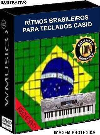 Rítmos Brasileiros Teclado Roland Yamaha Korg Casio Technics