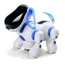Cachorro Robô Anda Late Acende Luzes C/ Música Veja O Vídeo