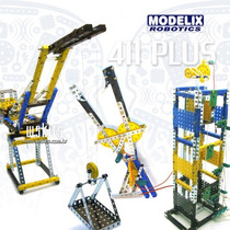 Kit Robótica 411 Modelix, Concorrente Do Mindstorms Nxt Ev3