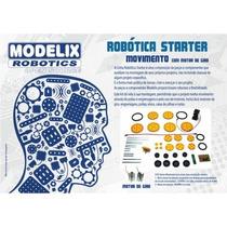 Kit De Robotica Starter Movimento Com Motor De Giro Modelix