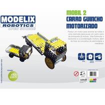 Kit De Robotica Mobil 2 Carro Guincho Motorizado Modelix