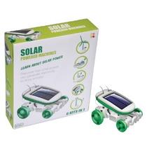 Solar Robot Power - 6 Em 1 Máquinas Movidas Kit Experiment