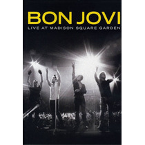 Dvd Bon Jovi - Live At Madison Square Garden - Original