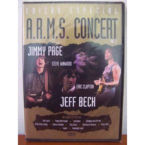 Dvd Arms Concert Vol. 1 Eric Clapton Jimmy Page Outros!!