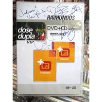 Raimundos Mais Mtv Cd+dvd Autografado Estado Impecável