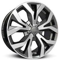 Roda Audi Rs6 2012 Aro 20 Grafite Diamantada