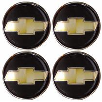 Logotipo Chevrolet Gm Calota Ou Roda 4 Peças 65mm