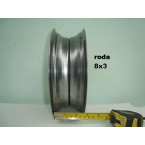 Roda Aro 8 Kart Cross - Carretas