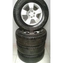 Roda Nissan Frontier Com Pneu Bridgestone H