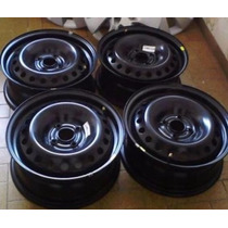 Jogo 4 Roda Original Ferro Chevrolet Novo Prisma Onix Aro 15