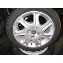 Roda Original Fiat 4x98 Aro 15x6 Usada Com Pneus Pirelli